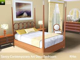 kriss u0027 savoy contemporary art deco bedroom
