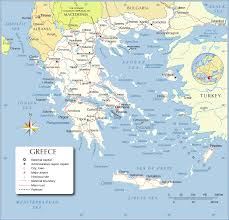 Travel Map Of Europe by Map Of Greece Greece Travel Map Greece Political Map