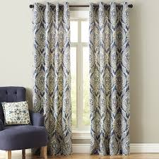 Pier One Paisley Curtains by Keegan Grommet Curtain Apartments Window And Decorating
