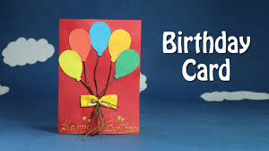 send this beautifull greeting balloons handmade birthday card diy birthday balloon card easy crafts