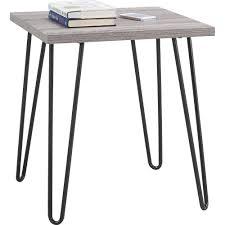altra owen retro coffee table altra owen retro end table 5068096pcom 5068196pcom finish sonoma