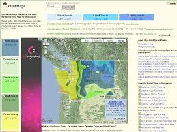 Zone Gardening - washington interactive usda plant hardiness zone map
