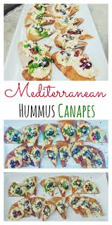 canapé en pin mediterranean hummus canapé recipe canapes hummus and food diary