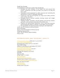 Sample Resume For Gym Instructor by Resume For Mohamed Abdelnaby