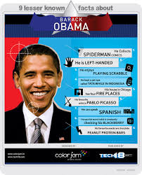 9 unknown facts about barack obama infographics tech shortly