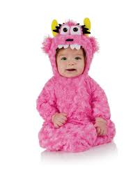 baby costumes spirit halloween pink monster baby costume baby bag as plush monsters horror