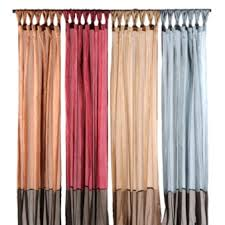 Two Tone Curtains Two Tone Curtain Panels At Kirklands