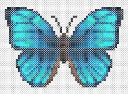 hama bead letter templates 105 best crafts perler beads images on pinterest cross stitch creaciones de hama beads mariposas hama beads