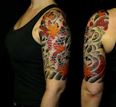chronic ink tattoo toronto tattoo koi fish half sleeve tattoo
