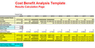 Cost Benefit Analysis Template Excel 11 Cost Benefit Analysis Template Sponsorship Letter