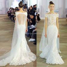 halter style wedding dresses detachable watteau tulle cathedral lace sheath wedding