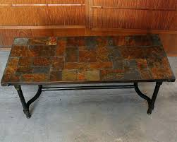 Slate Top Coffee Table Slate Top Coffee And End Tables Slate Top Coffee Tables