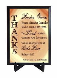 pastors gift from youth ministry pastor appreciation gift custom