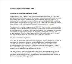 12 implementation plan templates u2013 free sample example format