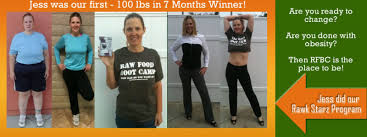 fast weight loss with a raw food diet with coach carlene