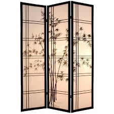 Japanese Screen Room Divider Furniture Bamboo Tree Room Divider Sscdxbt 3 Panel