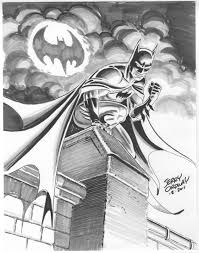 ordster u0027s random thoughts batman tonal drawing with copic markers