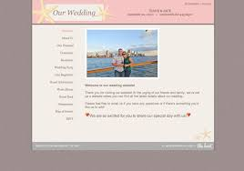 wedding websites registry exle wedding website from the knot minted sle flash