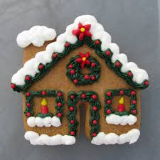 fun idea for decorating a gingerbread house cookie cinnamon