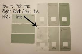 how to pick paint colors how to pick the perfect paint color the first time all things