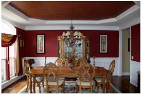 Dark Red Dining Room by Color Recipes February 2012