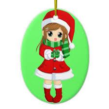 japanese anime ornaments keepsake ornaments zazzle