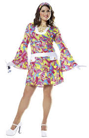 1960s and hippie costumes for women plus size costume craze