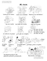 a song to describe your home in spanish difficult version