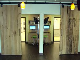 Salvaged Barn Doors by Barn Door Ideas For Office Paper Bag Styling Project Feature