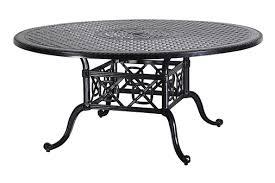 oval aluminum patio table grand terrace by gensun luxury cast aluminum patio furniture 66