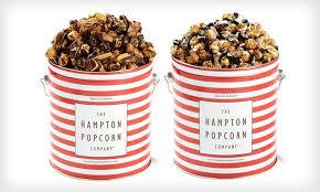 popcorn tin groupon goods
