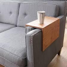 plateau de canapé plateau accoudoir canapé idées d images à la maison