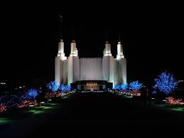 Church Lights 2017 Festival Of Lights Washington D C Mormon Temple