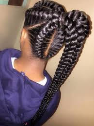 big cornrows black braided hairstyles 2017 big small african 2 and 4 cornrows