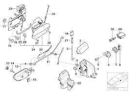 door lock parts u0026 component diagram