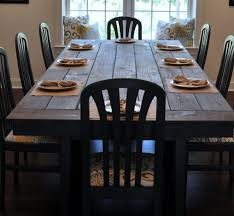 Picnic Dining Room Table 40 Diy Farmhouse Table Plans Ideas For Your Dining Room Free