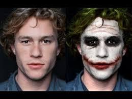 Heath Ledger Joker Halloween Costume Image Result Heath Ledger Joker Makeup Transformation