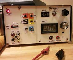 Pc Power Supply Bench Turn An Old Computer Power Supply Into A Workbench Power Supply
