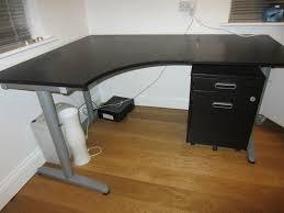 Ikea Standing Desk Galant by Ikea Galant Lh Corner Desk In Birch 120 X 80 Posot Class