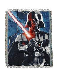 darth vader spirit halloween star wars darth vader woven tapestry throw blanket topic