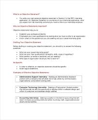 resume career objective resume objective for internship musiccityspiritsandcocktail