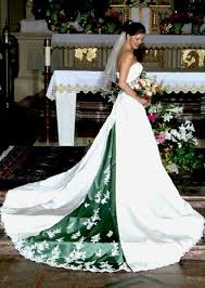 Green Wedding Dresses Wedding Dresses With Green Color Dresses Trend