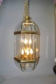 Antique Glass Chandelier Beveled Glass Chandelier Foter
