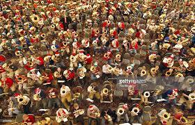 400 tuba players serenade with christmas carols photos and images