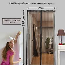 Magic Mesh Curtain Meded Magic Magnetic Door Mesh Curtain With Invisible Magnets