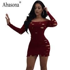 club dresses abasoba women club dresses sleeve hollow out bodycon