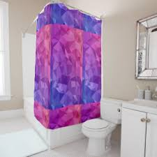 Modern Pattern Curtains Geometric Shapes Shower Curtains Zazzle