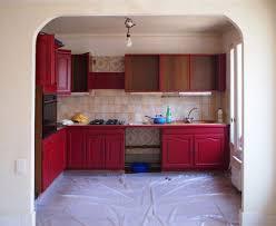 relooker sa cuisine avant apres repeindre une cuisine 300 euros pour un relooking réussi côté maison