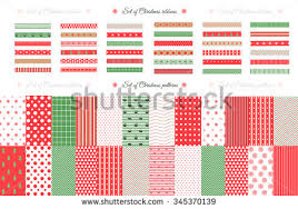 christmas pattern red green green christmas vector patterns download free vector art stock