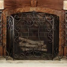 interior fireplace curtain screens regarding glorious fireplace